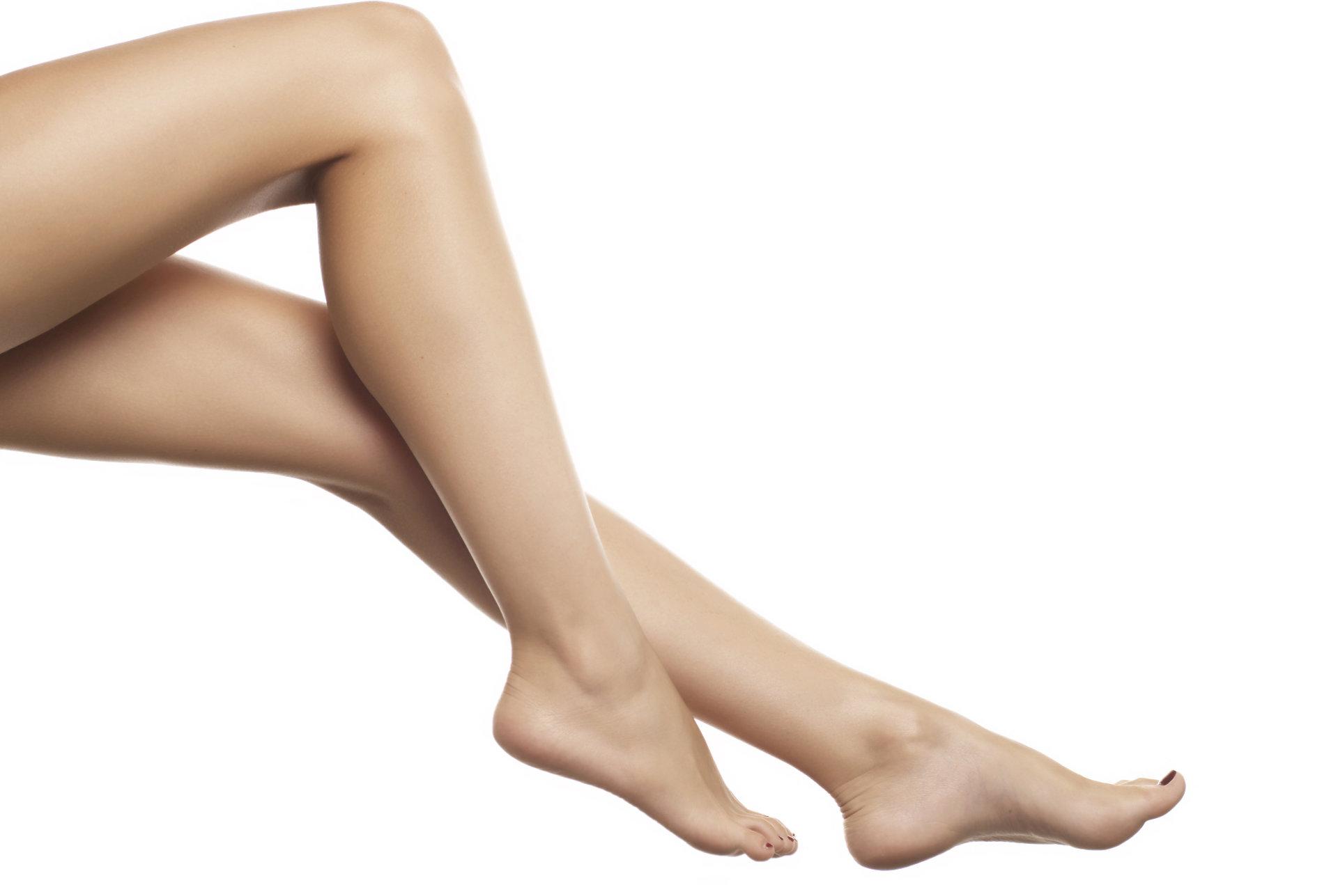 Female legs showcase Laser Hair Removal